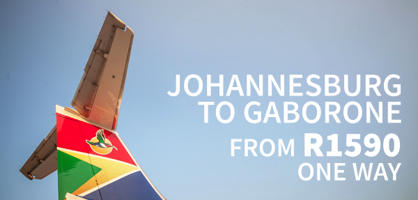 Airlink Gaborone Affordable Fares