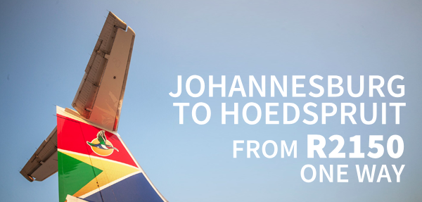 Hoedspruit Affordable Fares