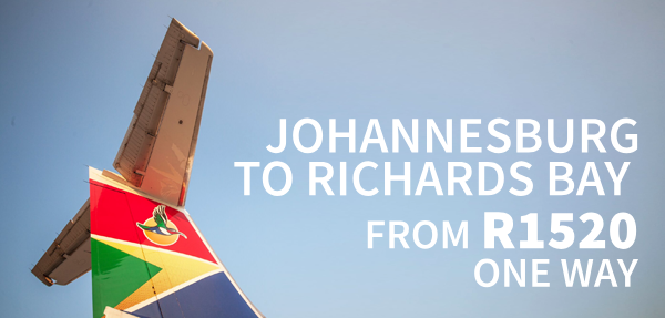 Airlink Richards Bay Affordable Fares