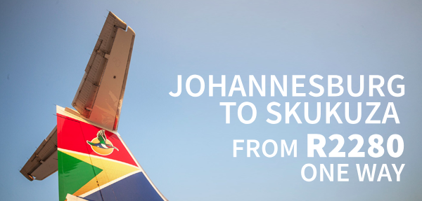 Airlink Skukuza Affordable Fares