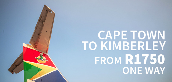 Airlink Kimberley Affordable Fares