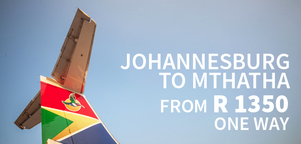 Airlink Mthatha Affordable Fares