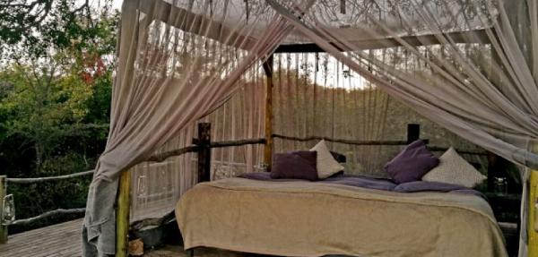 Garonga Safari Camp's sleep out deck