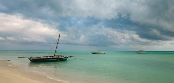 Shoreline of Quirimbas archipelago