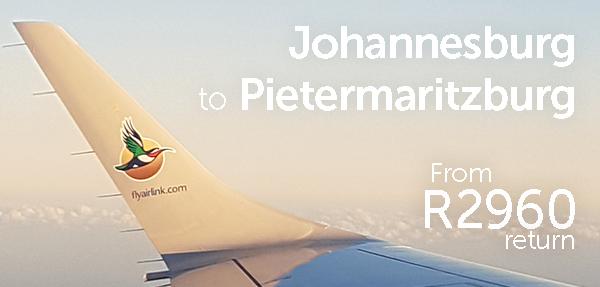Airlink Pietermaritzburg Affordable Fares